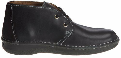 Clarks  Herren  RUMWELL HIGH Stiefel  BLACK LEATHER  ACTIVE AIR   UK 9.5 / 44