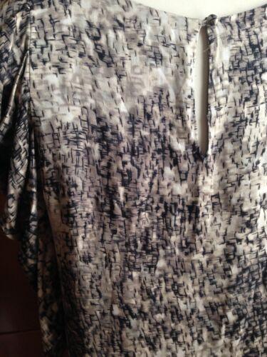 en grise 34 noire Birger Rrp 245 £ Et soie Robe taupe Mikkelsen Day Danish Xs HRIqTwH