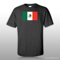 Mexican Flag T-shirt Tee Shirt Free Sticker Mexico