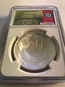 2014-Baseball-HOF-HALL-FAME-Silver-1-NGC-MS70-Washington-Nationals