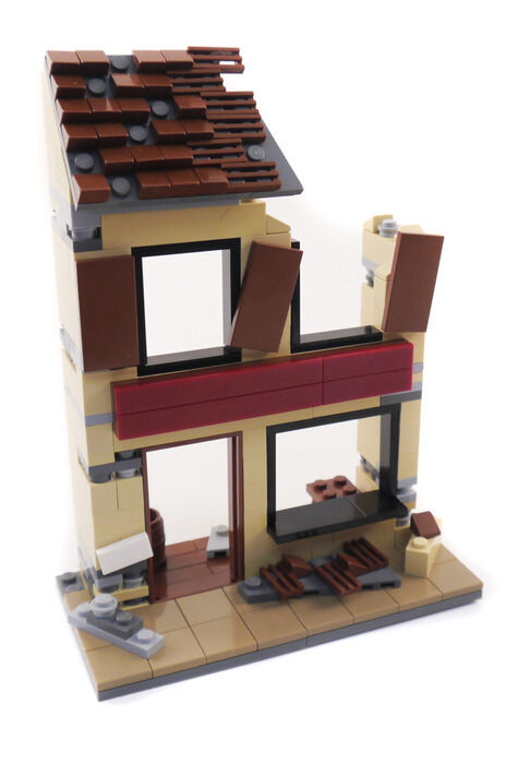 Custom LEGO®  WWII French French French House - With offer 8e520b