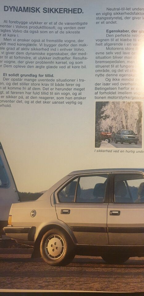 Brochure, Volvo 340 360