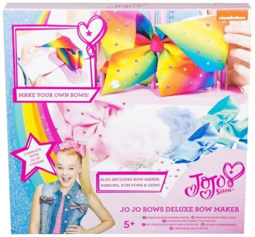 Jojo arcs et Pompon Porte-clés Maker-Deluxe Jojo Siwa Bows MakerParfait Pres
