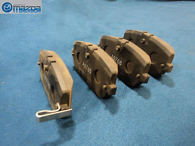 MAZDA MIATA 2006-2012 NEW REAR BRAKE PAD SET