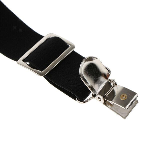 Unisex Erwachsene Stretch Hosenträger Hose Hose Harness Taillengürtel mit