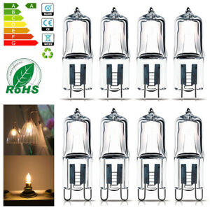 10x-G4-G9-LED-Bulb-25W-40W-50W-60W-Halogen-Lamp-Super-Bright-12V-220V-Warm-White