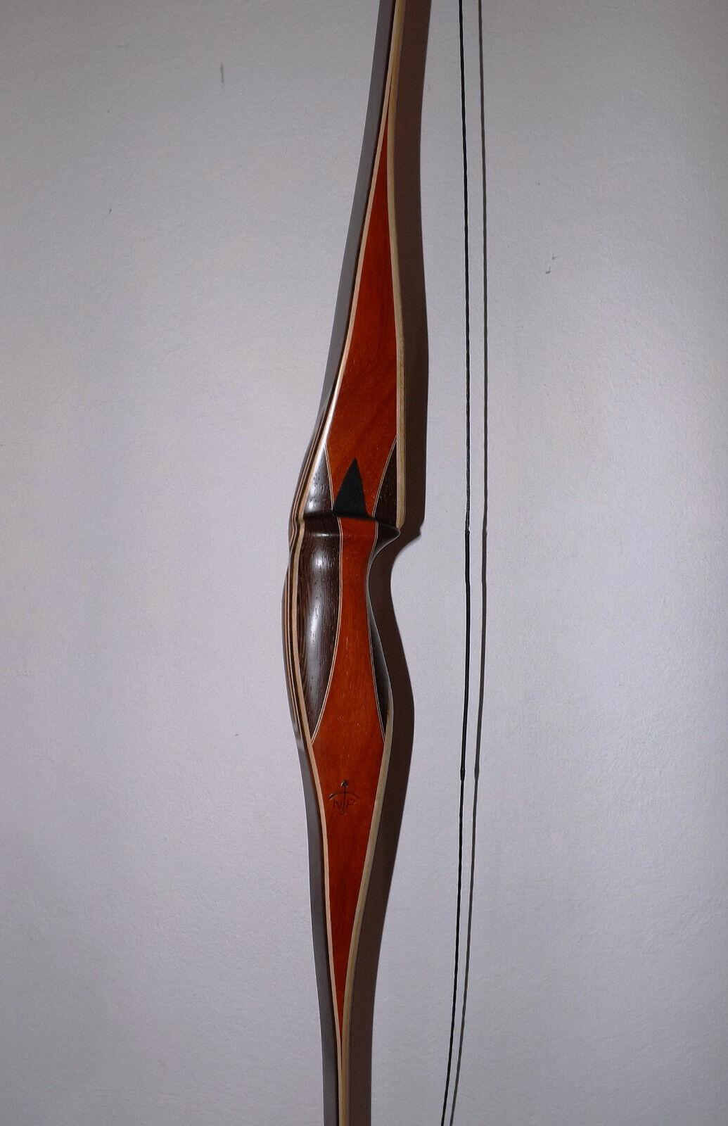 Arco largo Longbow Anubis plus 39 lbs Rh de Peter Nemeth