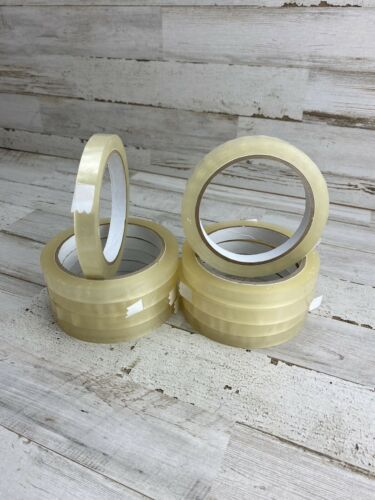 """10 Rolls 1//2in x 72yd Clear Transparent Tape Sealing Packing Stationery 3/"""" Core"""
