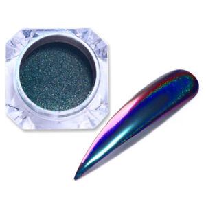 Holographic-Chameleon-Nail-Art-Glitter-Powder-Mirror-Laser-Chrome-Pigment-LG-06