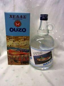 Ouzo-Geschenkflasche-Griechenland-Kalamata-Vol-42-1-l-GP-1-Liter-22-90