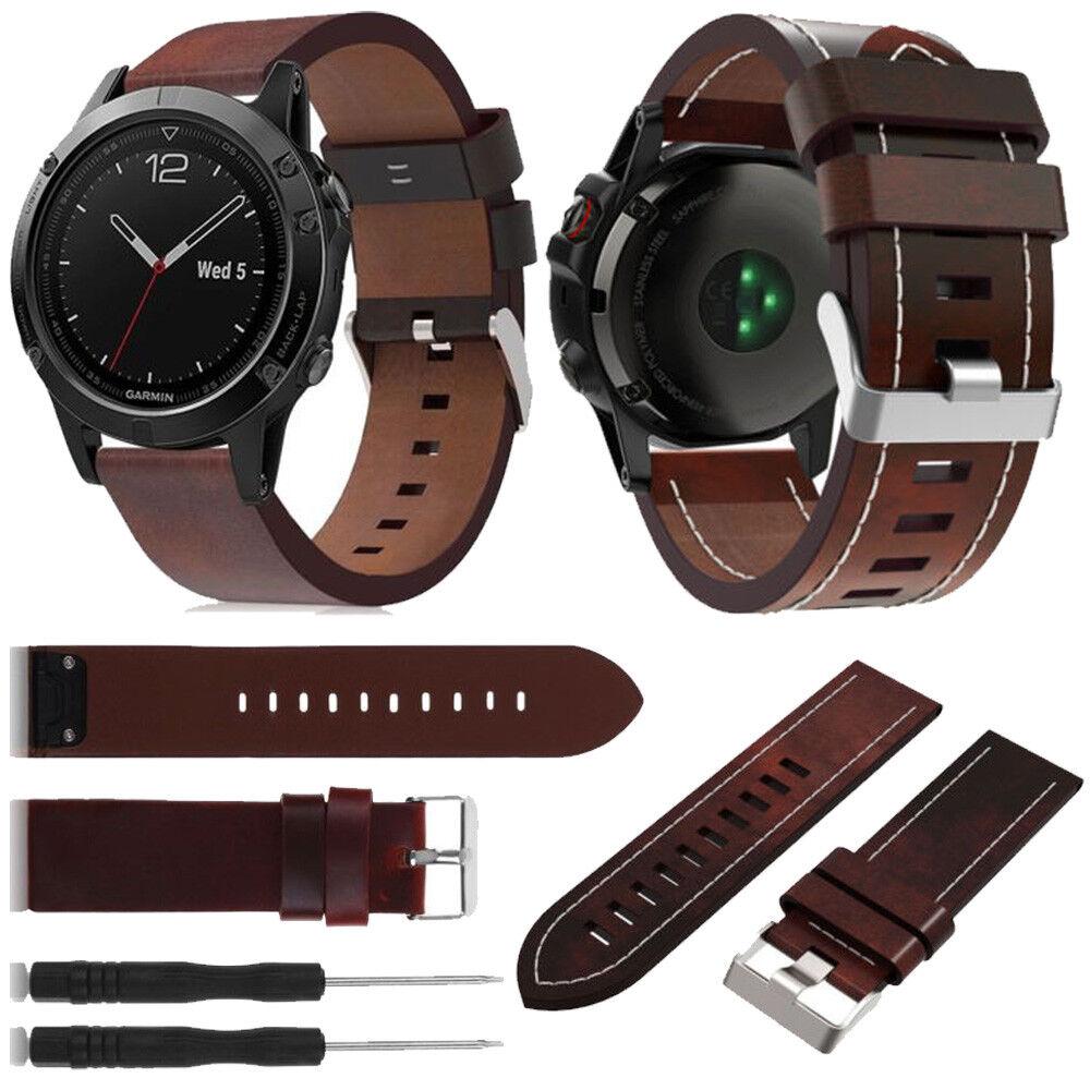 For Garmin Fenix 3 5 5X 5S Nylon/Silicone Strap Replacement Watch Band Bracelet 9