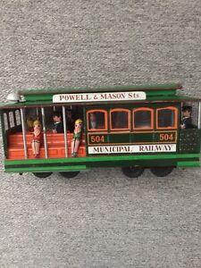 Vintage-Toy-San-Franscisco-Cable-Street-Car-Pressed-Steel
