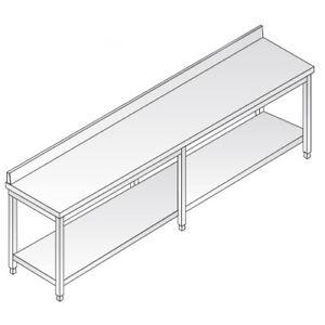 Mesa-de-240x90x85-de-acero-inoxidable-304-con-las-piernas-estanteria-planteadas