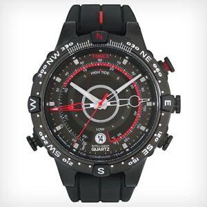 Timex-Intelligent-Quartz-Tide-Temp-Compass-Black-Strap-Gents-Watch-T2N720-IQ