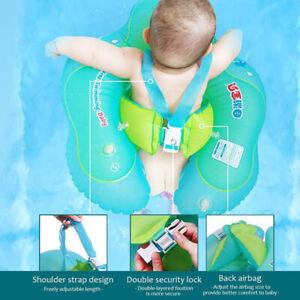 Baby-Schwimmtrainer-Hals-Schwimmring-Kinder-Schwimmhilfe-Babyboot-Aufblasbare