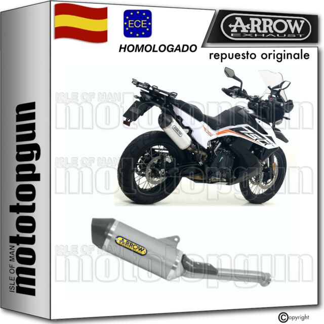 ARROW TUBO DE ESCAPE HOMOLOGADO RACE-TECH TITANIO C KTM 790 ADVENTURE 2019 19