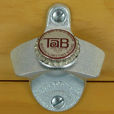 Vintage DW Starr X Wall Mounted Cast Iron Soda Beer Bottle Opener New Old Stock