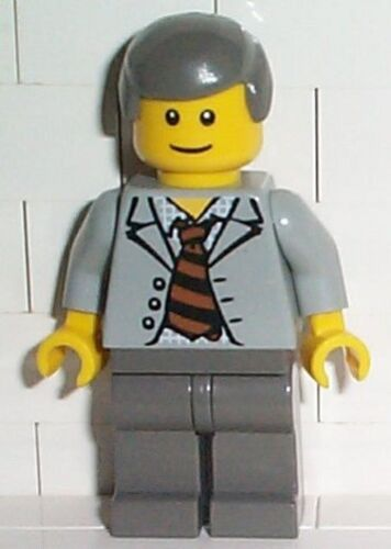 SPIDERMAN LEGO 4851 Scientist With Open Jacket MINIFIG