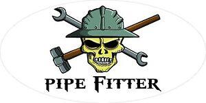 3-Pipe-Fitter-Skull-Oilfield-Roughneck-Hard-Hat-Helmet-Sticker-H317