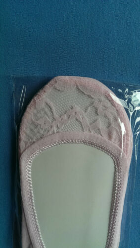 Ladies Lace Footsie Liner Ankle Invisible in Shoes Short Socks Ballerina H-Q !!!