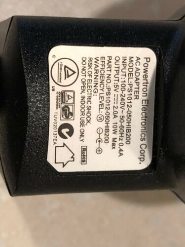 Powertron Electronics Corp AC Adapter PS1012-050HIB200 for IO Gear GUCE-62//64