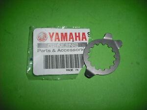 YAMAHA-DT230-DT-TDR125-TDR-TZR125-TZR-XVS-Placa-de-Fijacion-Del-Pinon-lavadora