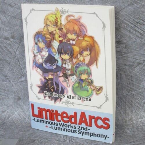 LUMINOUS ARC WORKS 2 WILL Art Book LIMITED ARCS w//CD Illustration Booklet