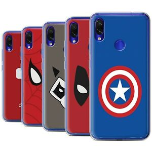Gel-TPU-Case-for-Xiaomi-Redmi-Note-7-7-Pro-7S-Super-Hero-Comic-Art