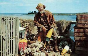 Postcard-The-Old-Salt-Along-the-New-England-Coast