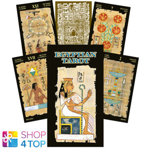 EGYPTIAN TAROT DECK CARDS ALASIA ESOTERIC FORTUNE TELLING LO SCARABEO NEW