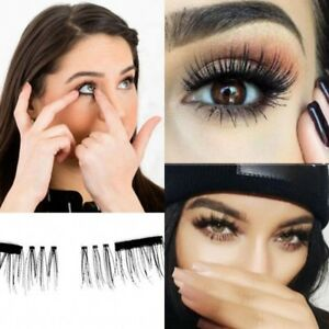 4Pcs-3D-Magnetic-False-Eyelashes-Natural-Eye-Lashes-Extension-Beauty-Make-up-New