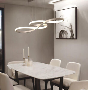 Image Is Loading Led Chandelier Kitchen Island Lamp Ceiling Light Fixture