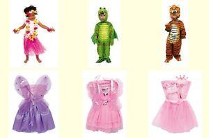 Neu Fasching Kostum Karneval Kinder Prinzessin Fee Drachen Tiger