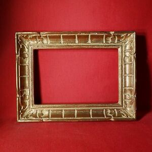 CADRE MONTPARNASSE BOIS PATINÉ OR FEUILLURE - 18-5 x 28 cm GlGRnMBV-07191659-814490810