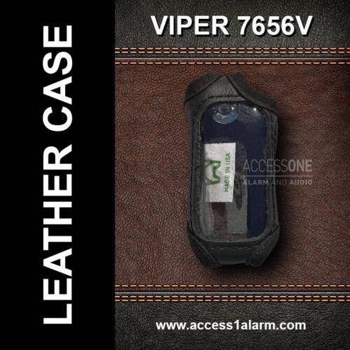 Viper 7656V High Quality Genuine LEATHER Remote Control Cover For Viper 3606