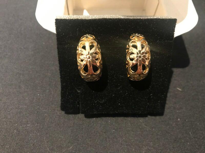 Avon - Spring Hoop Earrings - Goldplated