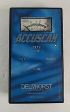 Delmhorst Accuscan Non Invasive Moisture Meter No Case Read Details
