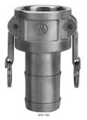 """2/"""" Type E Camlock Male Adapter x Hose Barb 304 Stainless Hose Fitting /<E200SS304"""