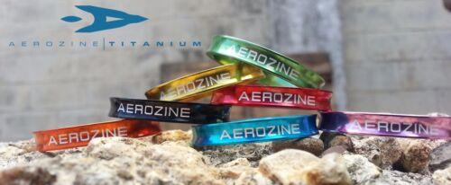 Aerozine Super Lightweight bicycle headset spacers 3pc Set 1-1//8 5mm 10mm GOLD