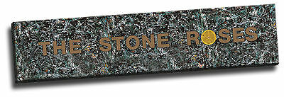 Extra Wide! Stone Roses Banner Giclee Canvas Poster Picture Art 8x36 Inches