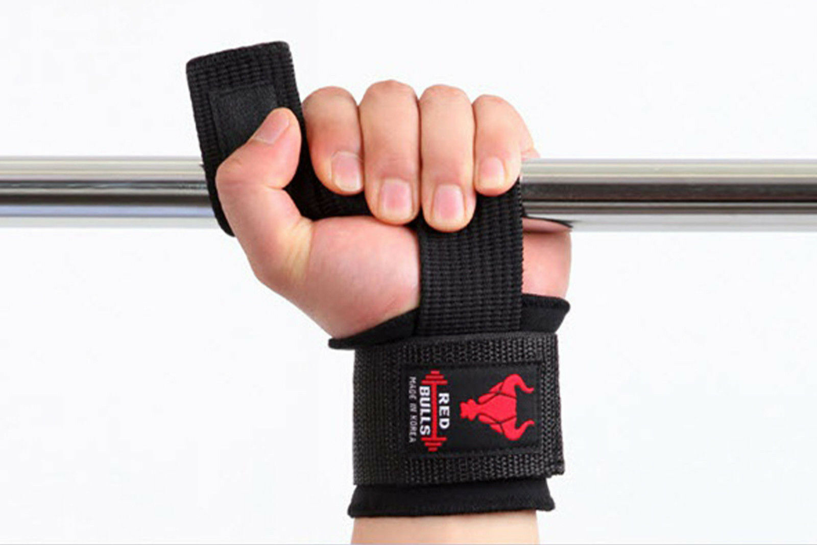 Power Lifting Straps  GYM Workout Fitness Wrist Pads Wraps Supports Weights Train  the newest