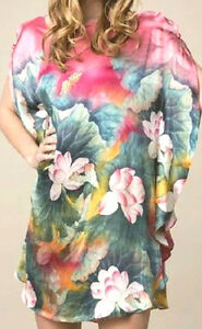 100-Pure-Silk-Shirt-034-So-Cool-You-Feel-Naked-034-Premium-Luxurious-Lotus3-OneSize-BR