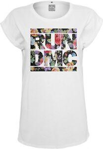 Ladies RUN DMC Floral Tee von XS-XL