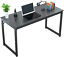 foxemart computer desk 47� modern sturdy office desk