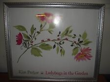 Kim Parker Kids Ladybugs in the Garden Poster (Frame not included)