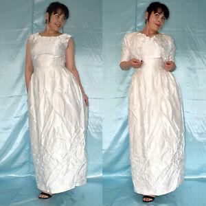 Diligent Sais Besticktes Mariage Robe + Bolero * S (38) Brillant Robe De Mariée, Robe De Bal Chaud Et Coupe-Vent