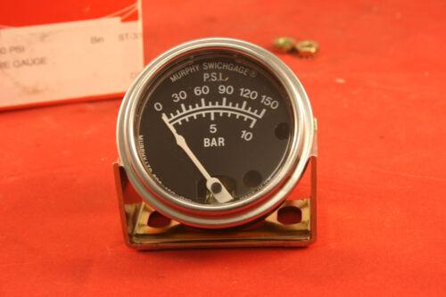 Murphy 150 PSI Jauge De Pression 20BPG 150 PSI-Neuf non utilisé Excédent Stock