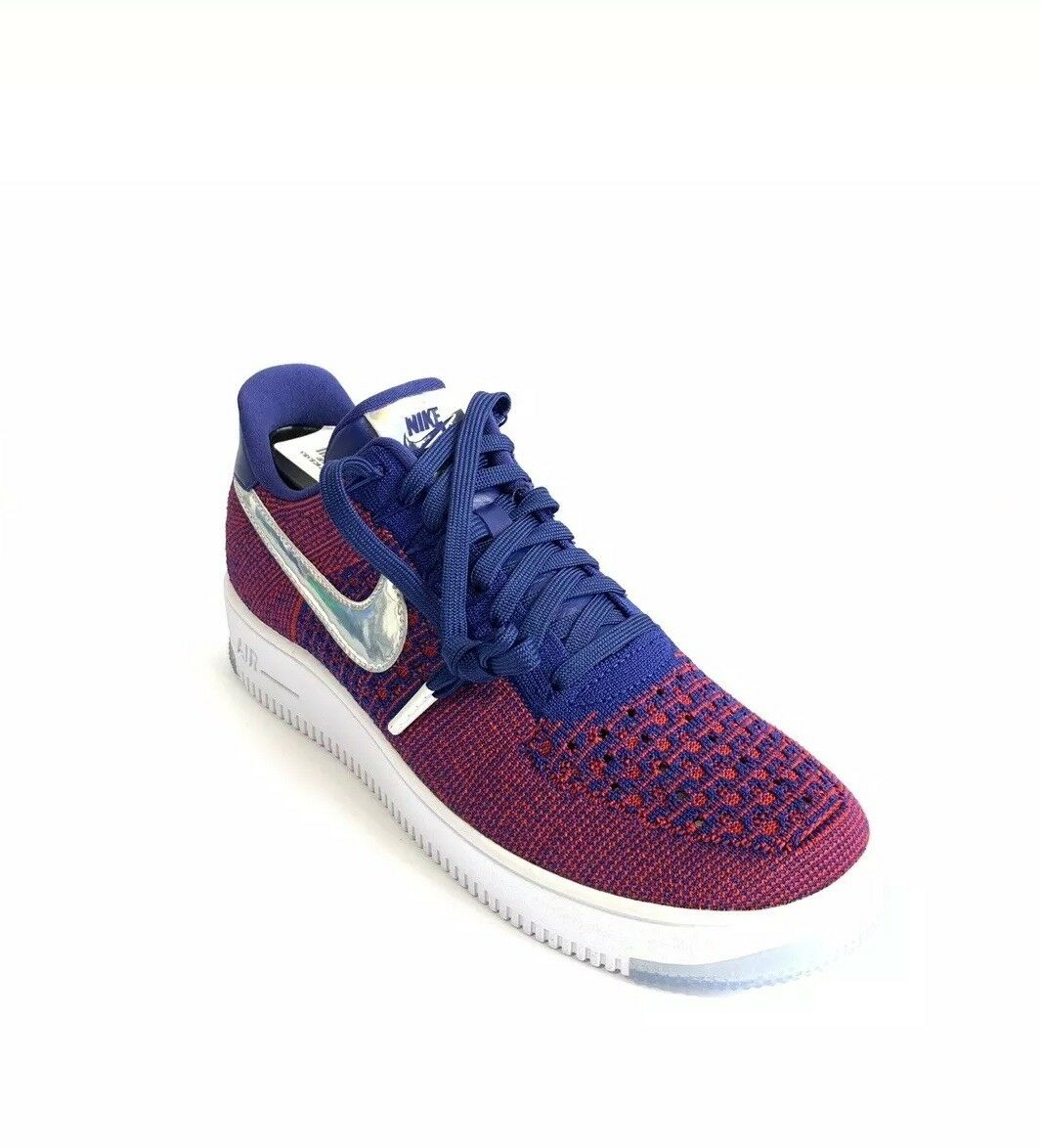 Nike Air Force 1 Low Ultra Flyknit Size 10 USA Olympic Red White bluee 826577-601