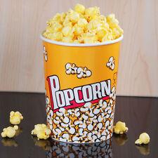 Carnival King 32 Oz Round Paper Popcorn Cup 500 Case 760v32