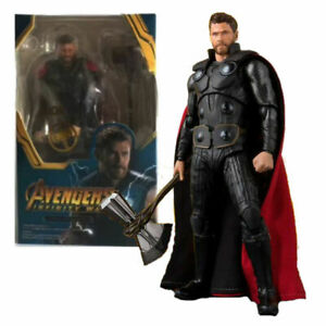 Avengers-infinity-War-6-034-Thor-Axe-Action-Figure-Toys-Kids-Xmas-Gifts